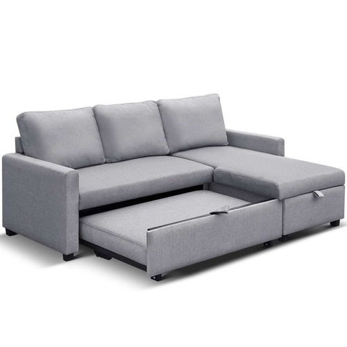 Dwell Home Sinead 3 Seater Sofa Bed with Storage