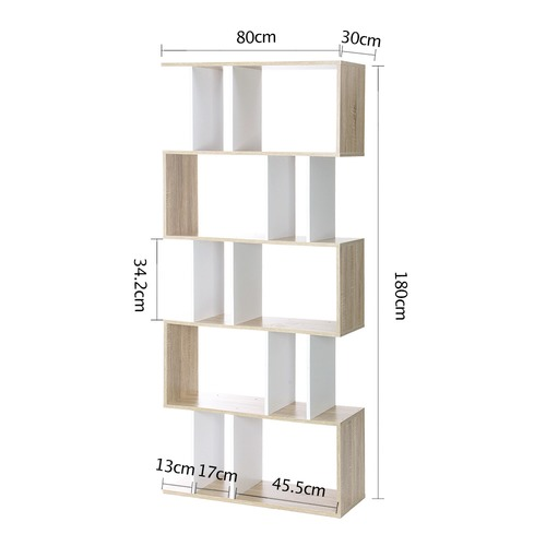 Dwell Home 5 Tier Ellista Puzzle Shelf Unit