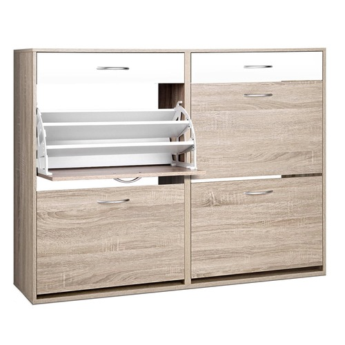 Dwell Home 4 Part Shoe Cabinet Tower