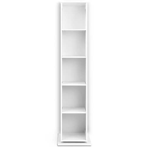 Dwell Home White Rotating Storage Cabinet