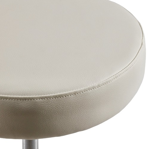 Dwell Home Sleek Faux Leather Salon Stool