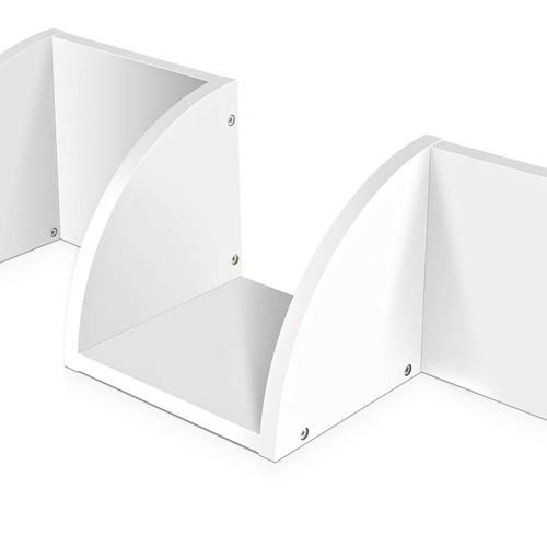 Dwell Home 5 Tier Corner Wall Shelf