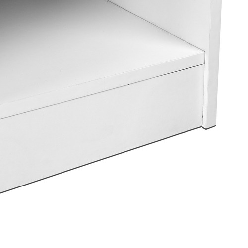 Dwell Home White Office Computer Desk with Storage