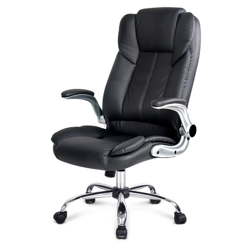 Dwell Home Priya Faux Leather Office Chair