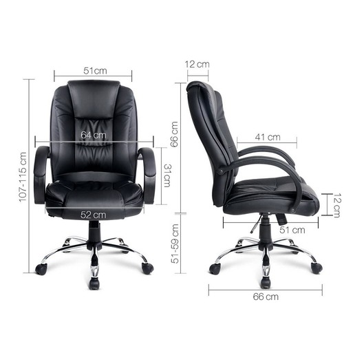 Dwell Home Executive Faux Leather Office Chair