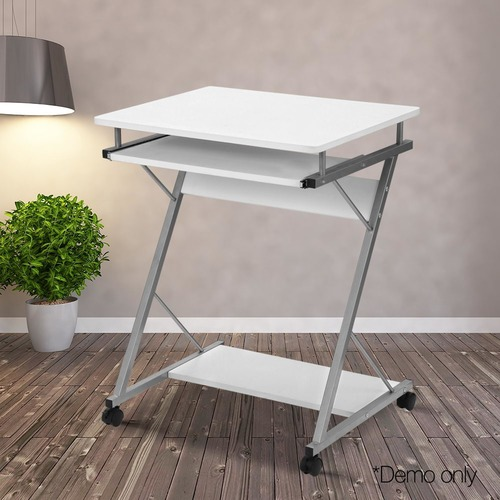 Dwell Home Industrial Metal Drawer Desk