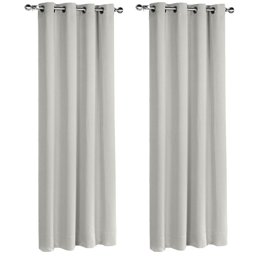 Dwell Home Ecru Eyelet Blockout Curtains