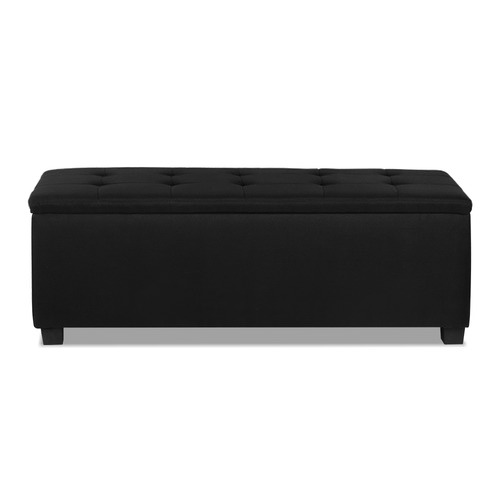 Dwell Home Lily Upholstered Storage Ottoman