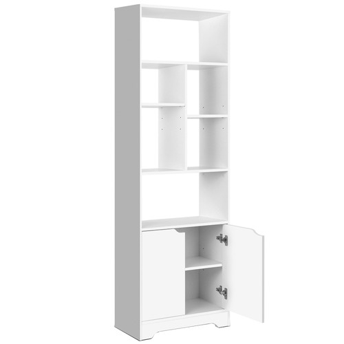 Dwell Home White Display Cabinet Shelf
