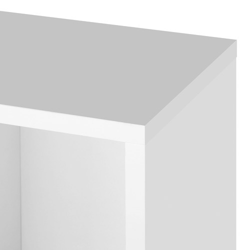 Dwell Home White Artiss 4 Tier Display Shelf