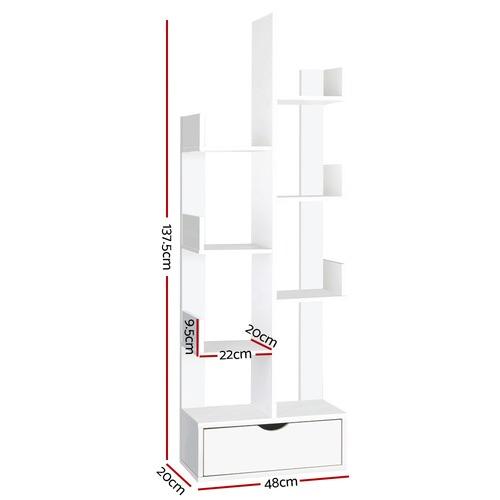 Dwell Home White 6 Tier Tree Shelf
