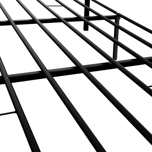 Dwell Home Black Arie Modernistic Metal Bed Frame
