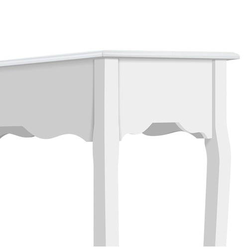 Dwell Home White Arie French Provincial Hall Table