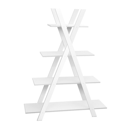 Dwell Home Curtis 4 Tier Ladder Bookcase