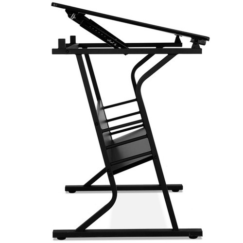 Dwell Home Black Drafting Table & Stool Set