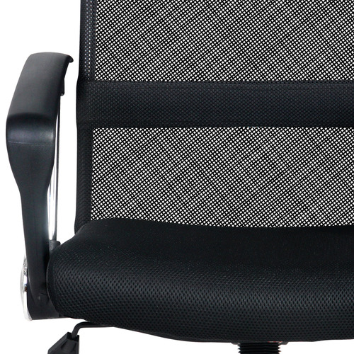 Dwell Home Rachel Faux Leather & Mesh High Back Office Chair
