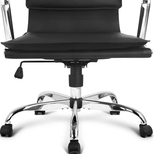 Dwell Home Black Emerson High Back Office Chair