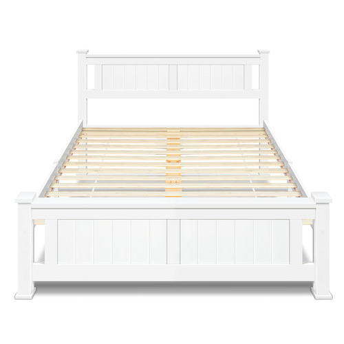 Dwell Home White Nina Queen Bed Frame