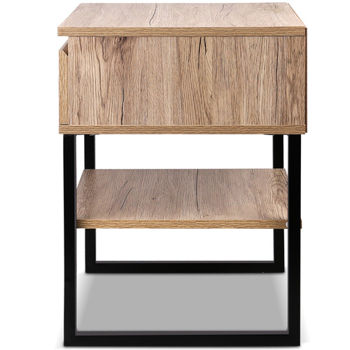Dwell Home Contemporary Josie Shelf Bedside Table