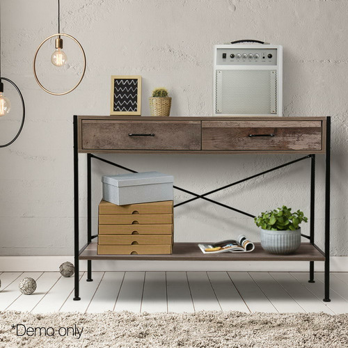 Dwell Home Martin Wooden Hallway Console Table