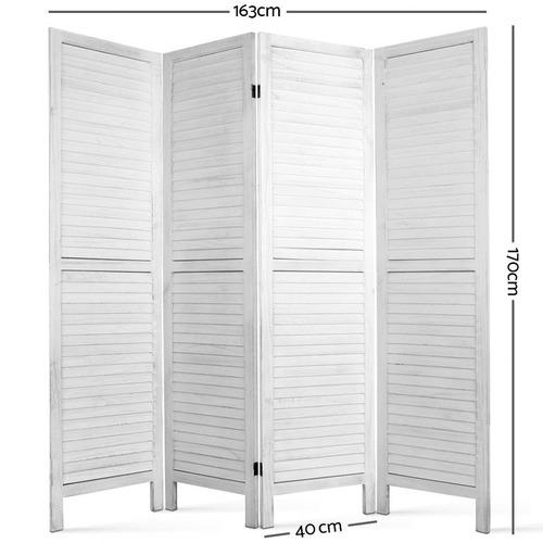 Dwell Home 4 Panel Celine Timber Room Divider