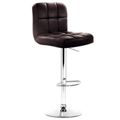 Dwell Home Swivel Faux Leather Barstools