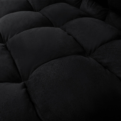 Dwell Home Charcoal Brivote Suede Sofa Bed