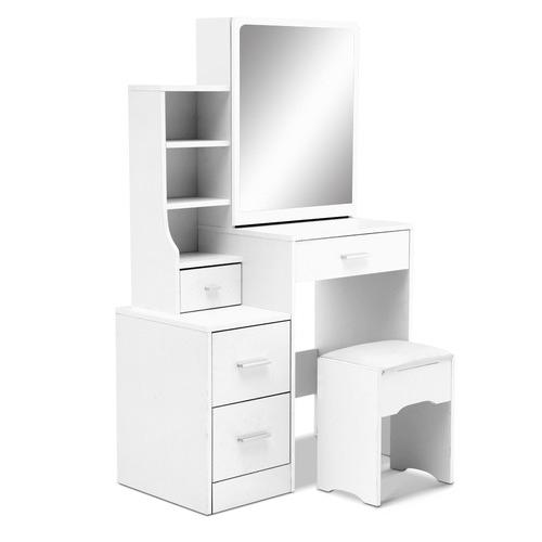 Dwell Home 2 Piece White Bluebella Dressing Table & Stool Set