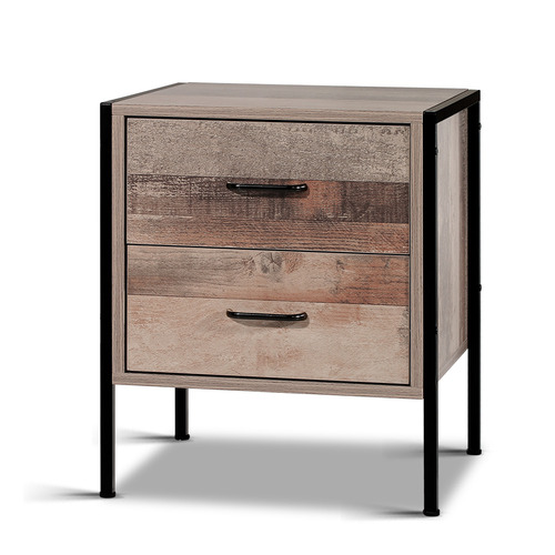 Dwell Home Dark Brown Goya Bedside Table
