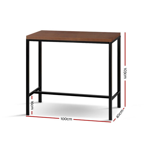 Dwell Home Alex Wooden Bar Table