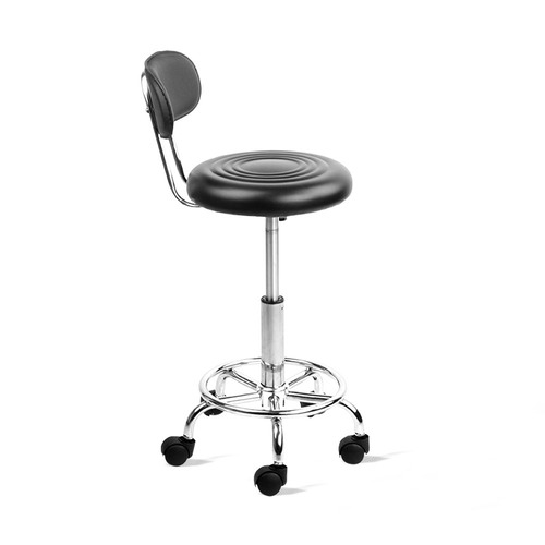 Dwell Home Eden Faux Leather Adjustable Salon Stool