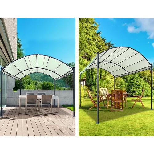Dwell Home 260cm x 400cm Garou Arched Canopy Gazebo