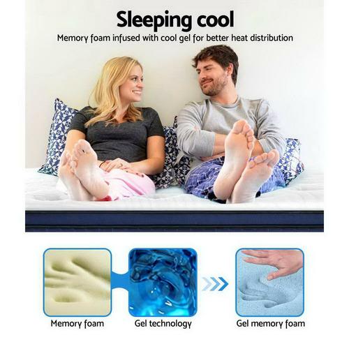Dwell Home Medium-Firm Geisler Cool Gel Memory Foam Mattress