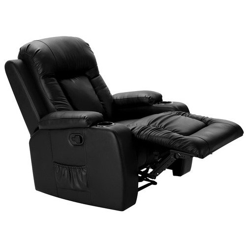 Dwell Home Luxor Faux Leather Massage Recliner Chair