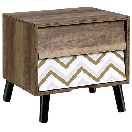 Dwell Home Tortuga Side Table with 2 Drawers
