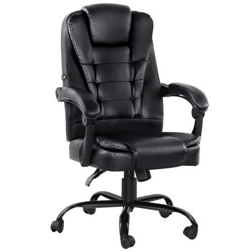 Dwell Home Morvon Faux Leather Office Massage Chair