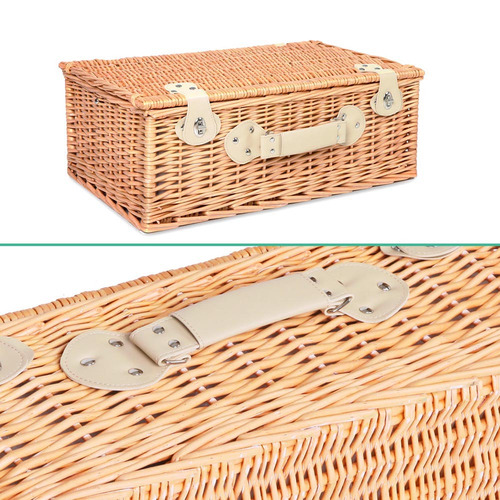 Dwell Home Al Fresco 4 Person Deluxe Picnic Basket