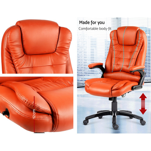 Dwell Home Faux Leather Massage Office Chair