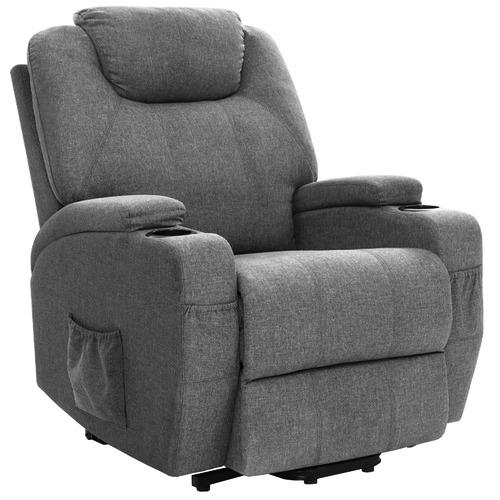 Dwell Home Grey Jovani Recliner Massage Chair