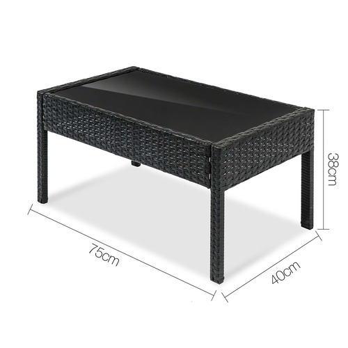 Dwell Outdoor 4 Seater Outdoor Patio Set