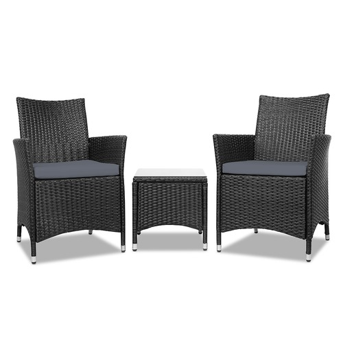 Dwell Outdoor 2 Seater Outdoor Chair & Coffee Table Set
