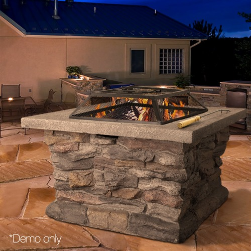 Dwell Outdoor Outdoor Drew Fire Pit & Table