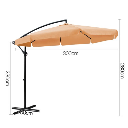 Dwell Outdoor Sun Hut Outdoor Umbrella