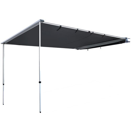 Dwell Outdoor Charcoal Weisshorn Car Shade Awning