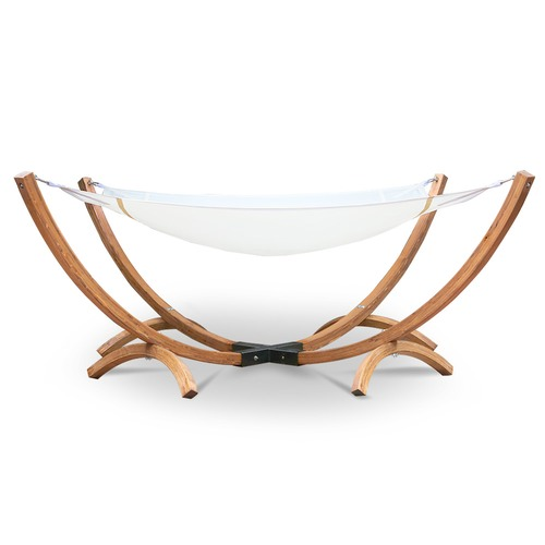 Dwell Outdoor Square Gardeon Double Timber Bed Hammock