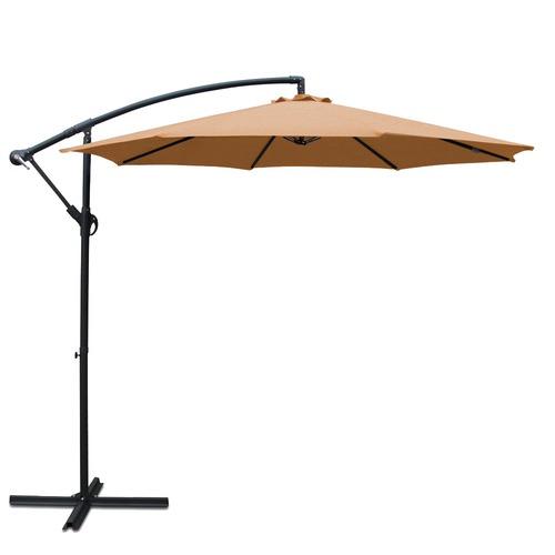 Dwell Outdoor Sun Hut Cantilevered Outdoor Umbrella
