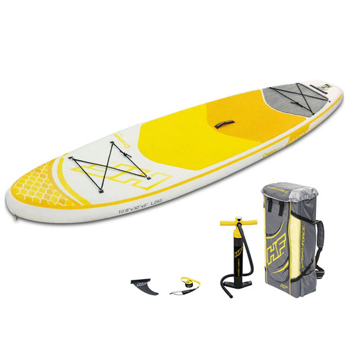 Dwell Outdoor Yellow Inflatable Standing Up Board