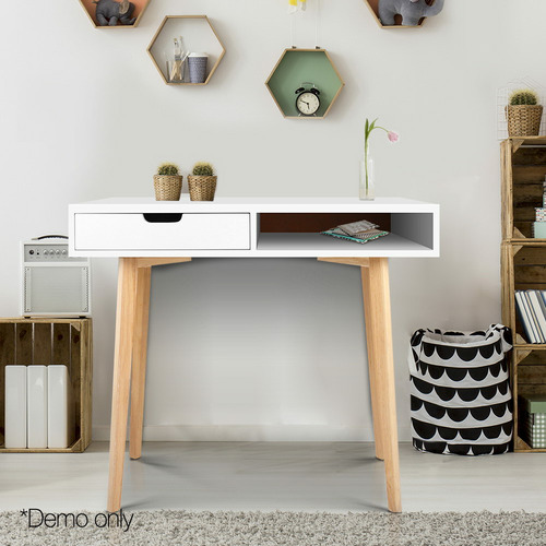 Dwell Outdoor Cassie Computer Desk with Drawer