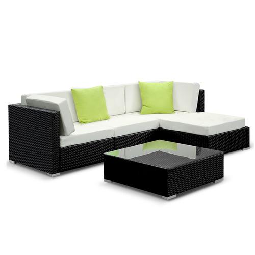 3 Seater Girgio PE Wicker Outdoor Sofa Lounge Set