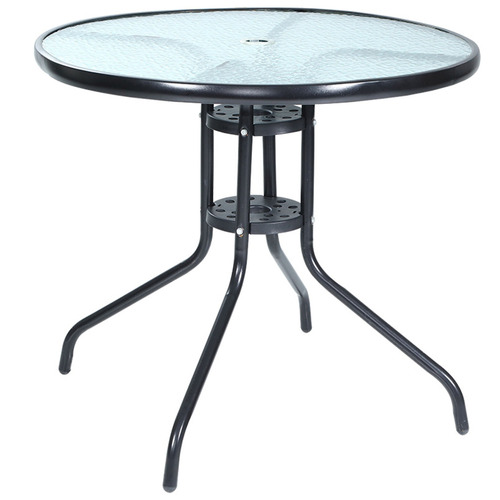 Jardin Glass Outdoor Dining Table Temple Webster